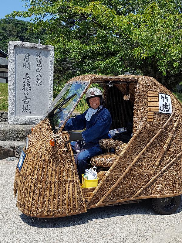 彦根の古城、竹虎四代目(山岸義浩、YOSHIHIRO YAMAGISHI、TAKETORA)、竹トラッカー