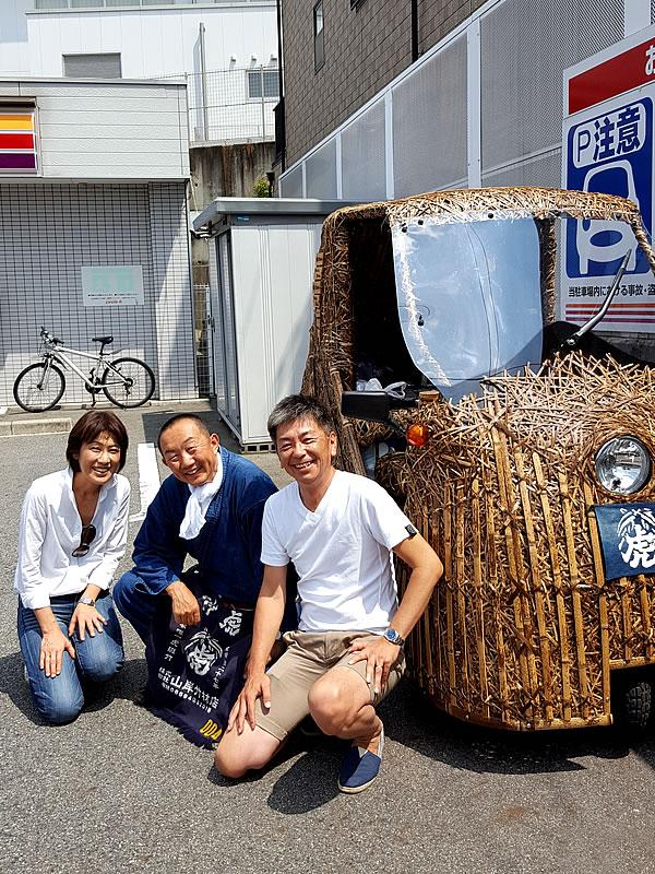チャレンジラン横浜、竹虎四代目(山岸義浩、YOSHIHIRO YAMAGISHI、TAKETORA)、竹トラッカー