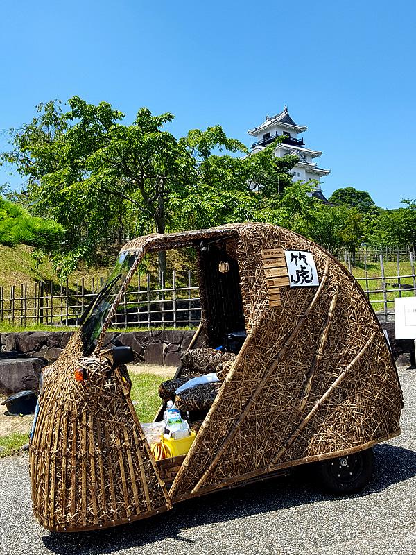 竹トラッカー、掛川城