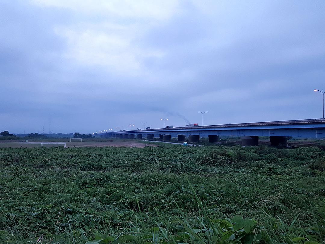 チャレンジラン横浜、大井川、蓬莱橋