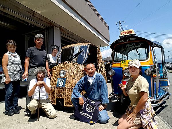 チャレンジラン横浜、竹トラッカー、トゥクトゥク