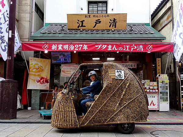 電気自動車竹トラッカー