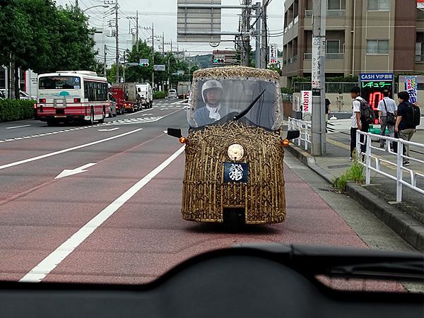 竹の車「竹トラッカー」