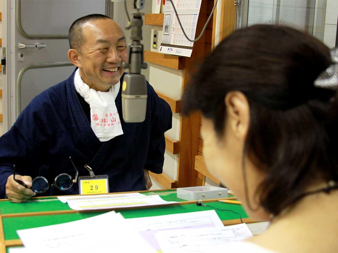 ぐっど騎士(ナイト)RADIO、井津葉子さん、竹虎四代目
