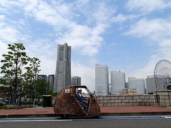 竹トラッカー、横浜ランドマーク
