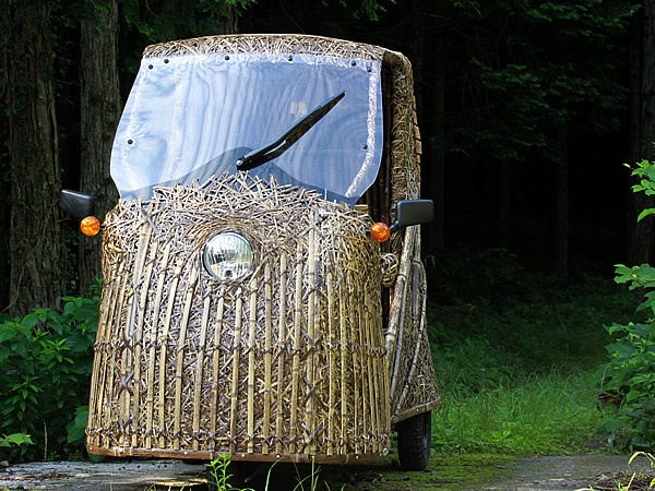 竹トラッカー(Tiger Bamboo car)