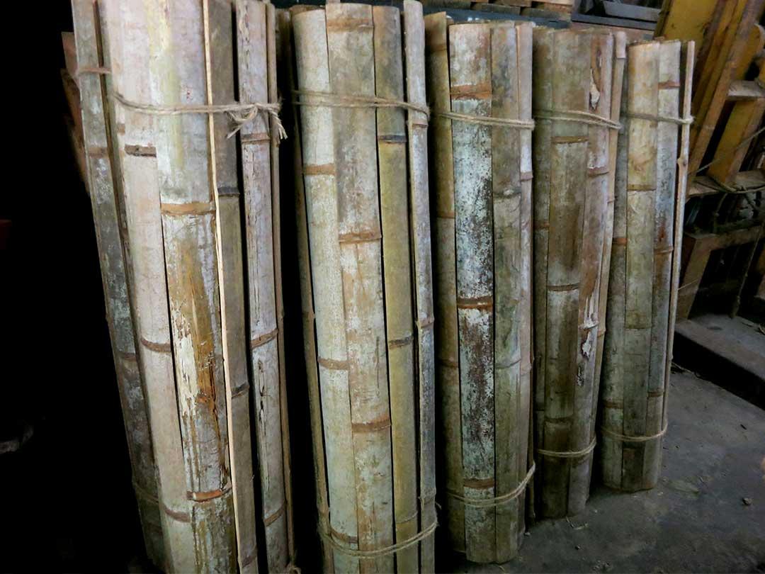 最高級竹炭竹材