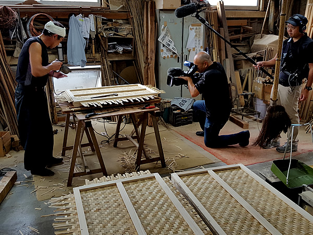 NHKテレビ番組「四国羅針盤」竹虎工場