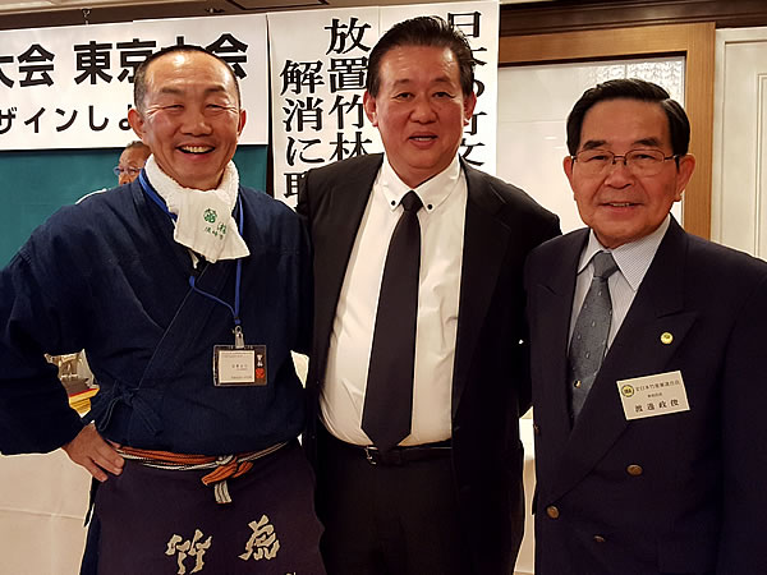 東京大会、ティラポン氏、渡邉先生、竹虎四代目
