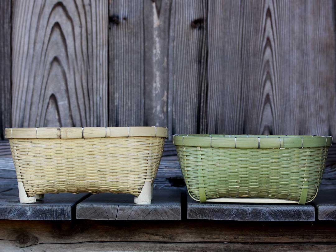 お一人様用の竹椀籠