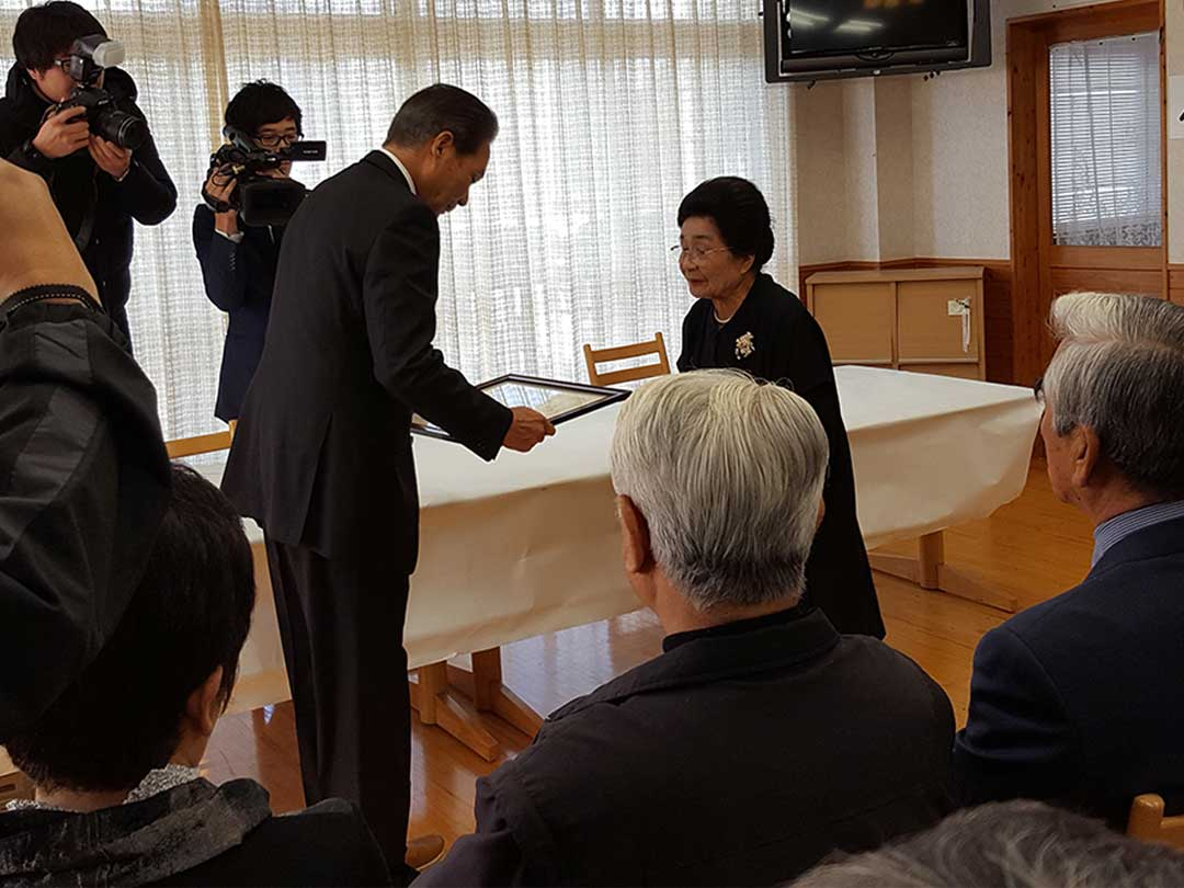 第25回高新大賞「ねはんの会」土居瑞(みず)先生受賞