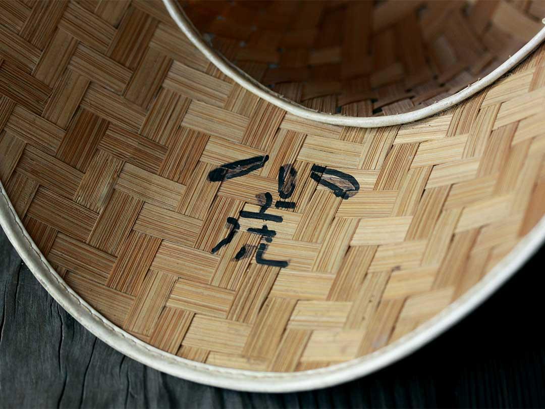 竹製野球帽子