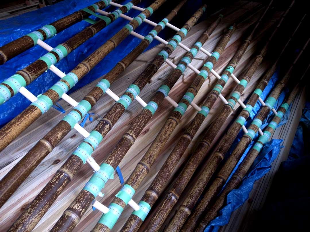 Installation kaguya、虎竹