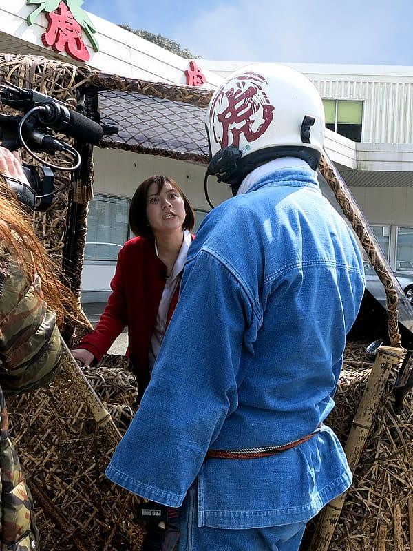 竹虎四代目(山岸義浩)、山本雪乃、テレビ朝日「羽鳥慎一モーニングショー」竹トラッカー