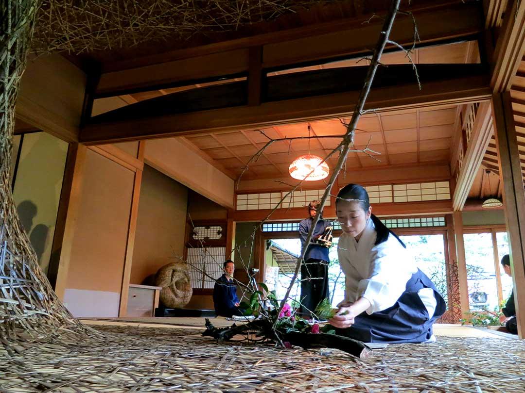 珠寶さん、田辺小竹さん、正木美術館