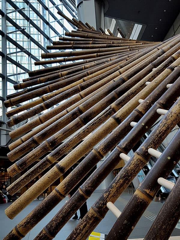 「Installation kaguya」日本唯一の虎竹