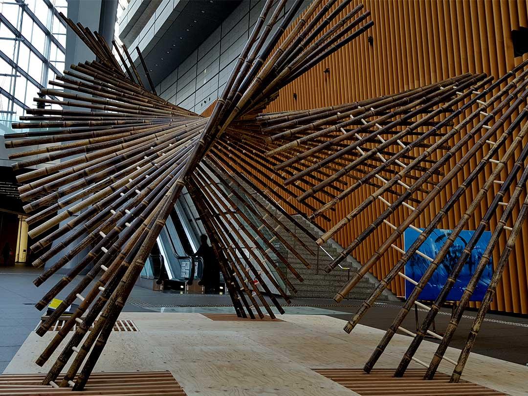 「Installation kaguya」虎竹