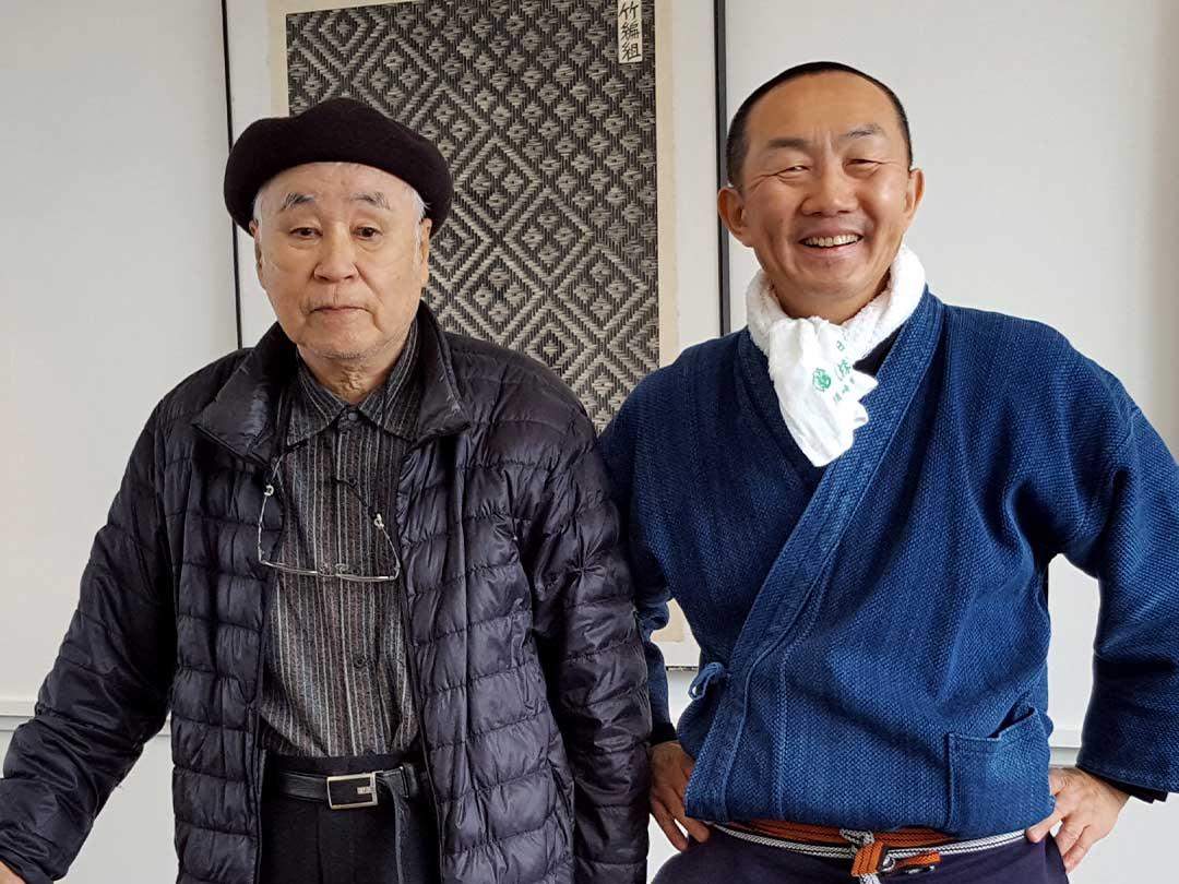 倉富敏之先生、竹虎四代目