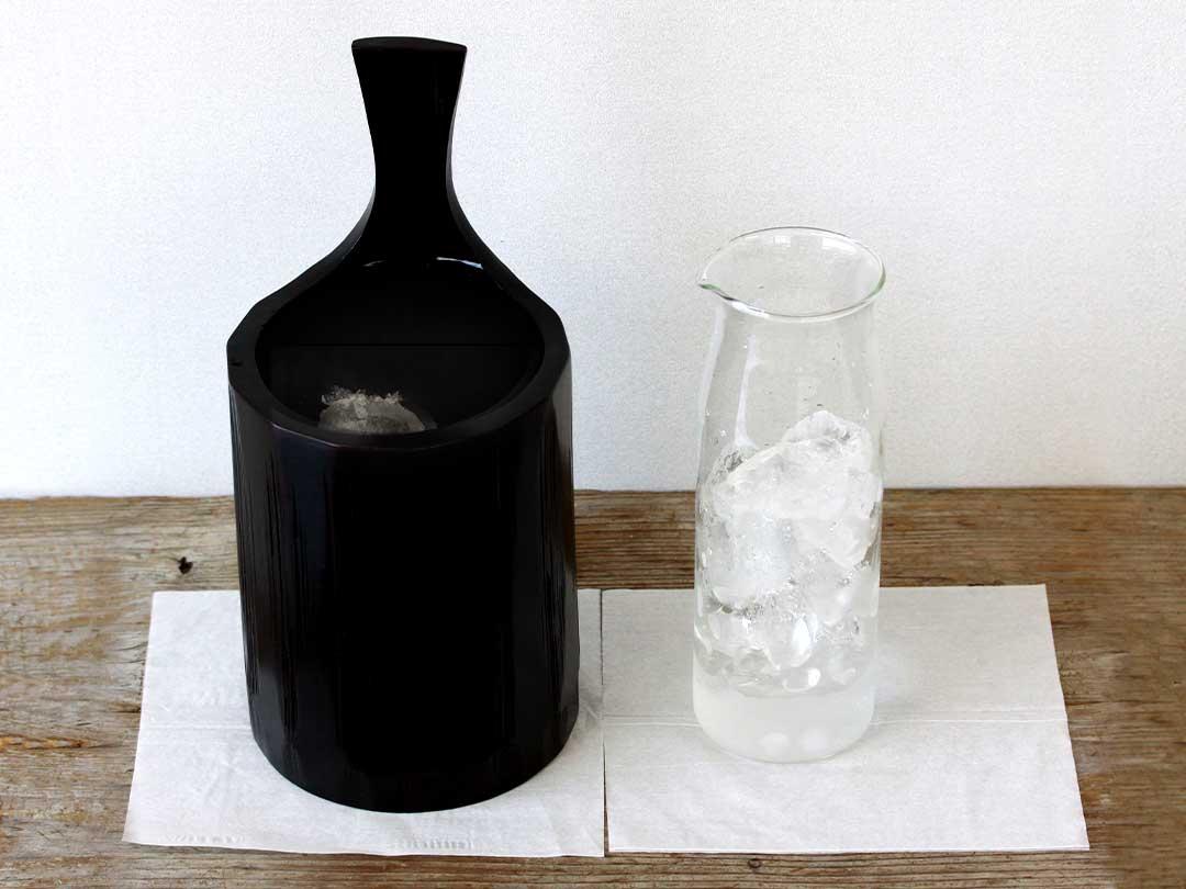 竹ワインクーラー汗かき実験