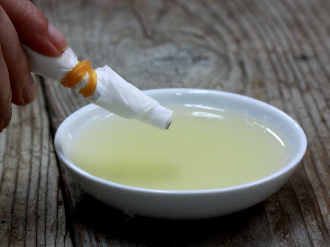 竹酢液の抗菌実験