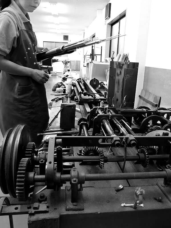 竹筬(たけおさ)製造