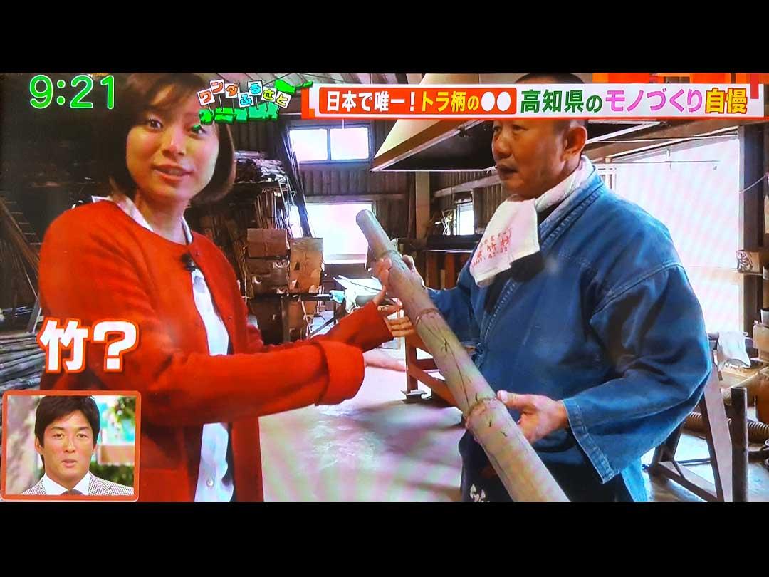 テレビ朝日「羽鳥慎一モーニングショー」虎竹
