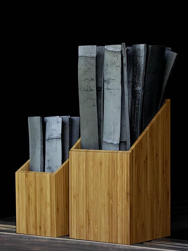 シックハウス対策最高級竹炭、癒しの竹炭かご