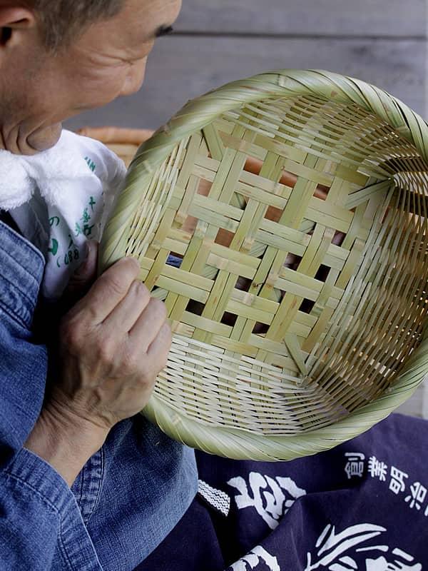 淡竹椀籠の作り方