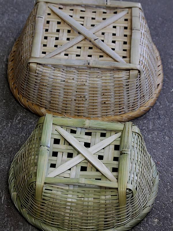 淡竹椀籠、水切り籠