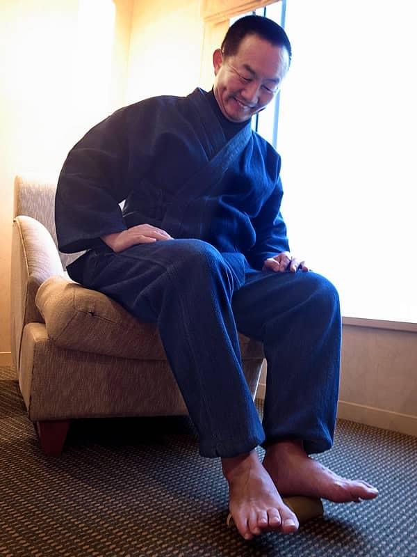 竹虎四代目(YOSHIHIRO YAMAGISHI)、青竹踏み携帯用
