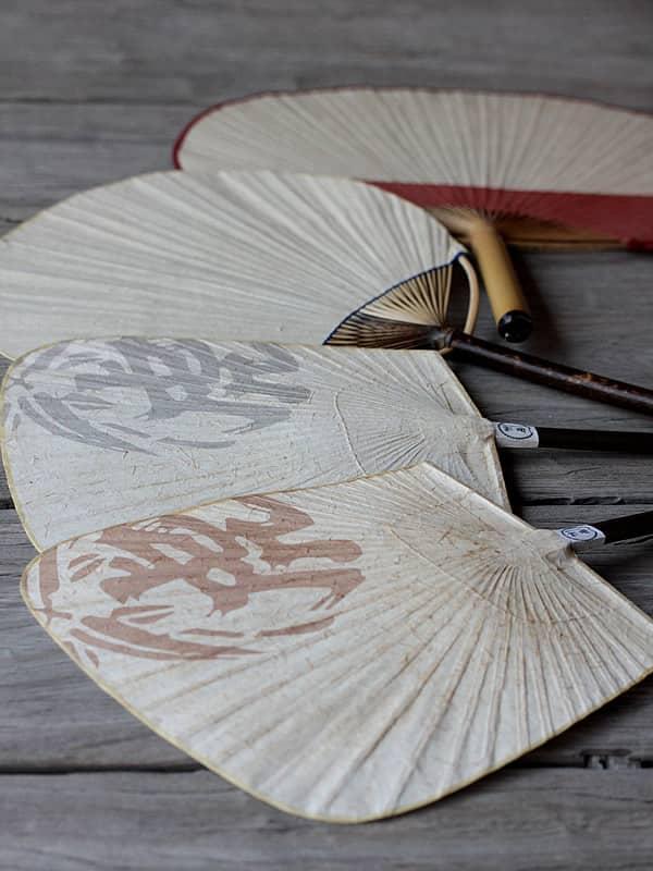 虎竹和紙ウチワ