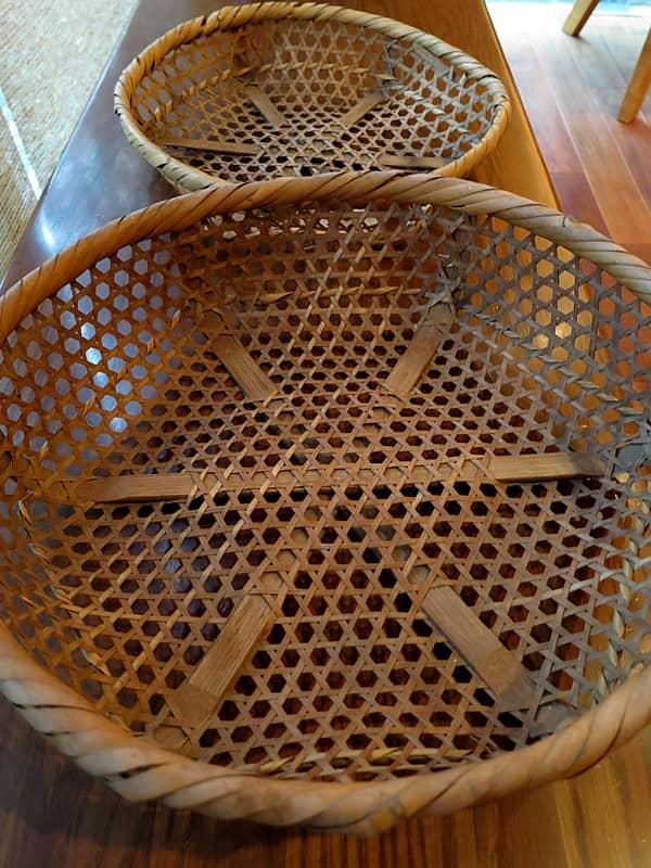 多摩のメカイ籠、篠竹
