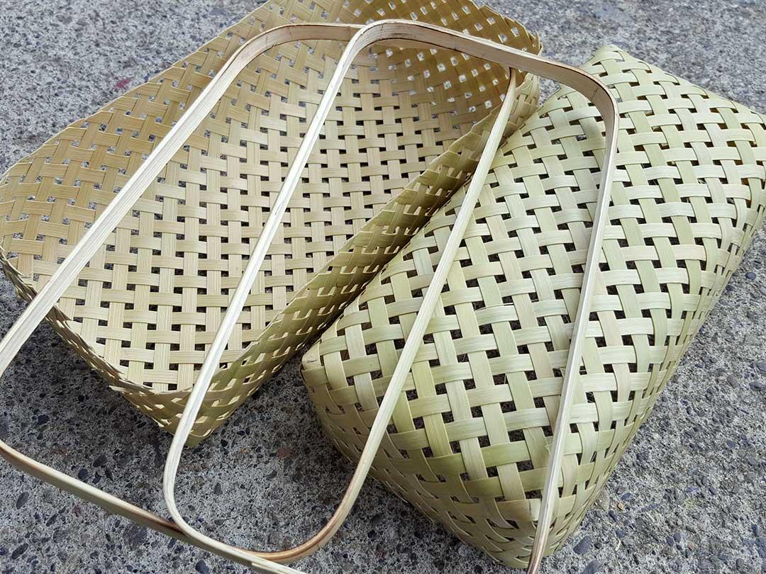 蓬莱竹弁当箱製作
