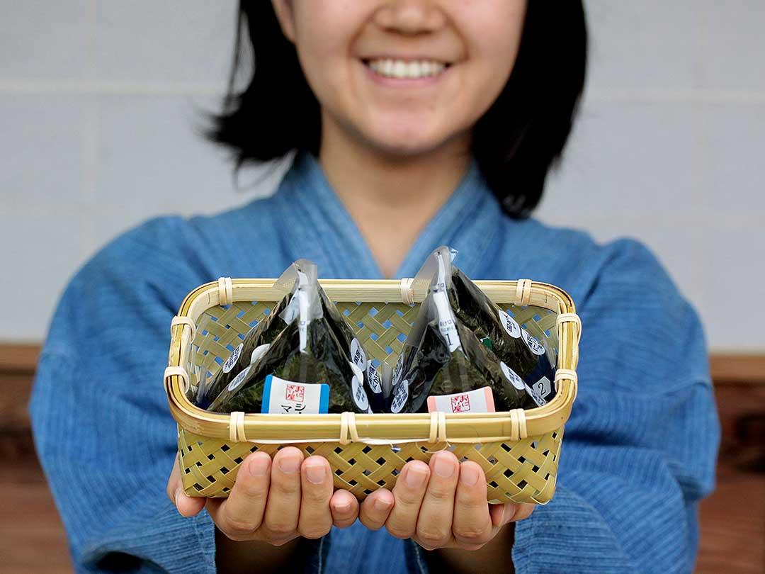 蓬莱竹弁当箱