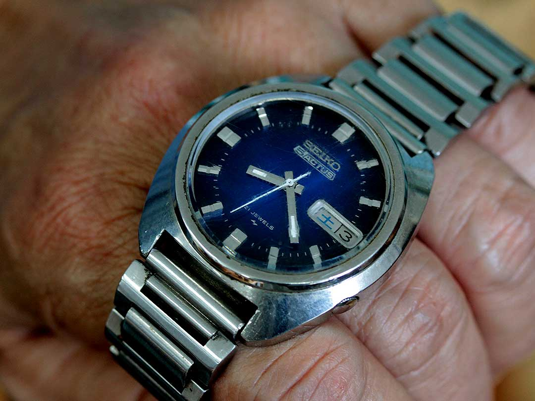 42年前の竹虎四代目思い出の時計