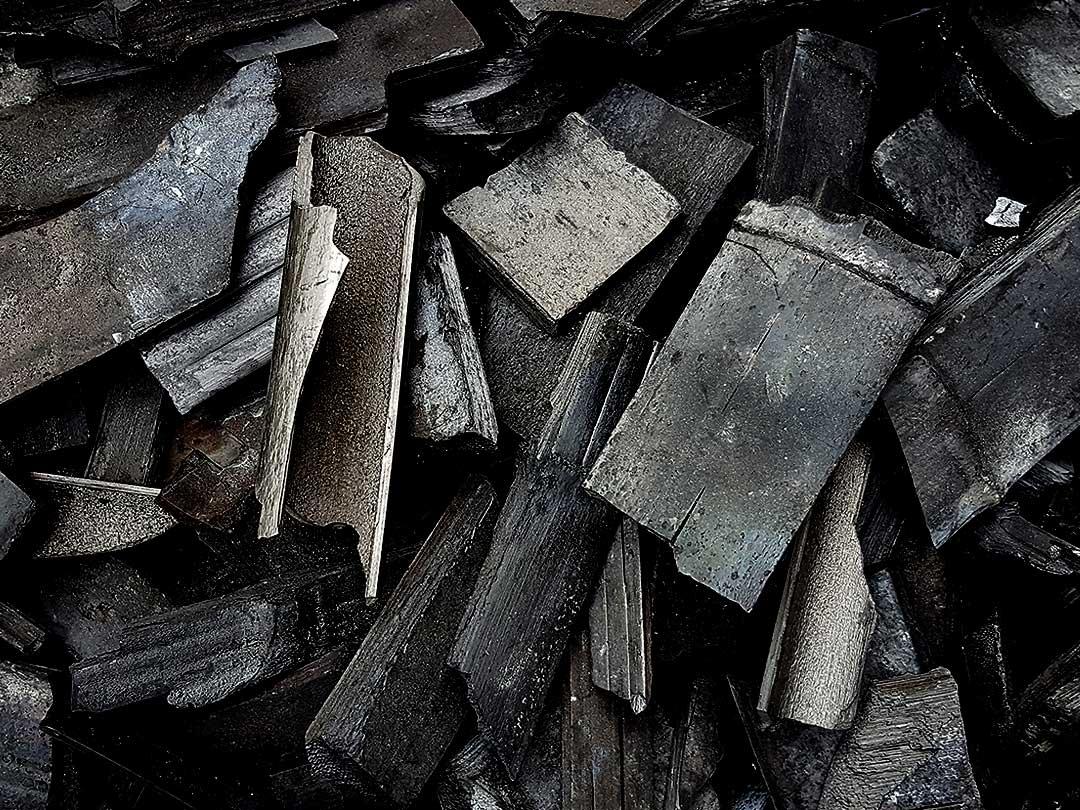土窯竹炭(バラ)