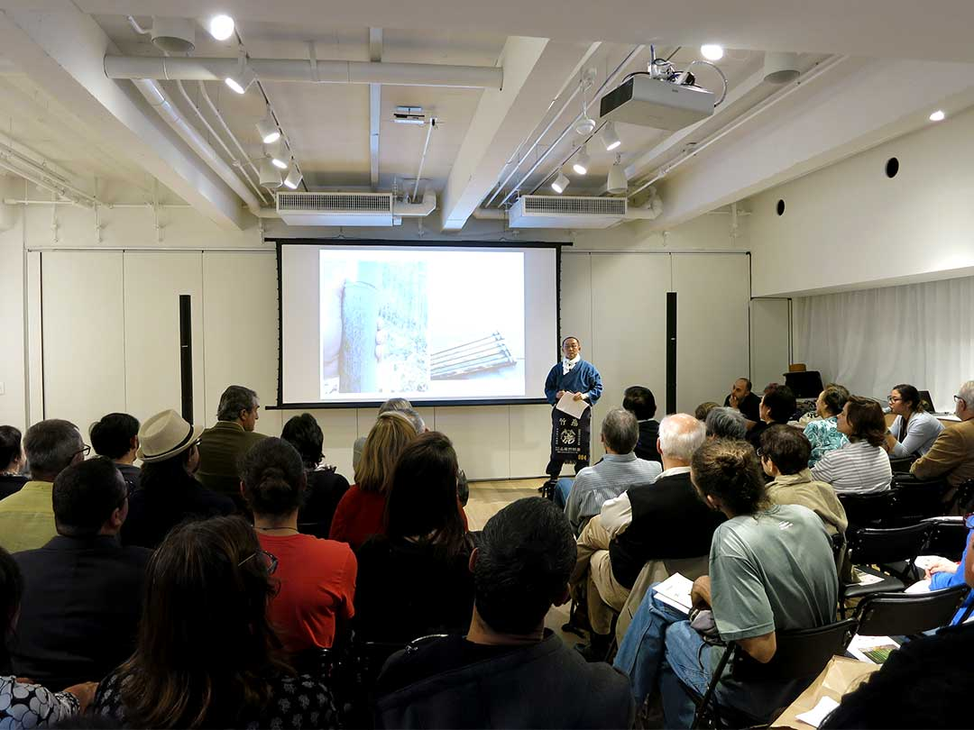 JAPAN HOUSE Sao Paulo「日本唯一の虎竹と共に100年、持続可能な地域資源活用」