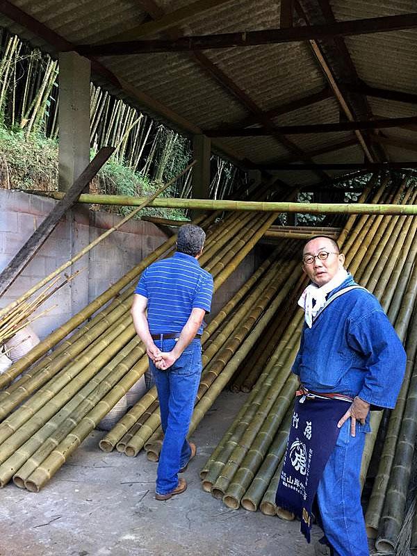 HARADA KOUJIさん竹工場