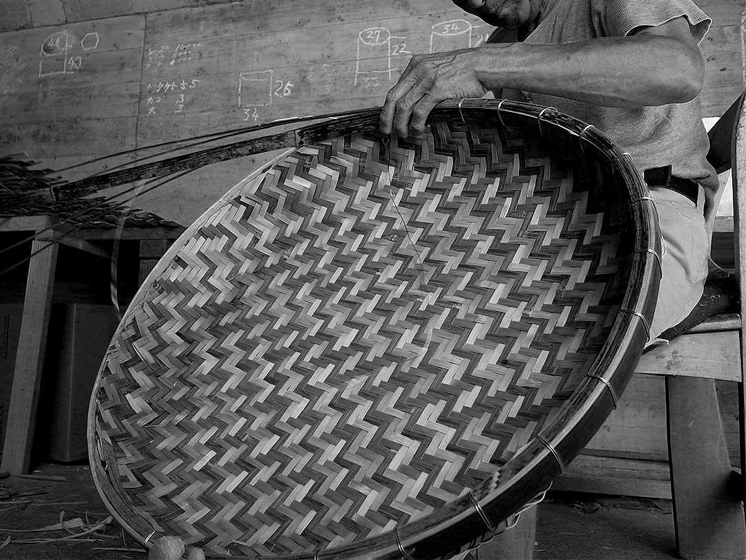 梅干しざる製造