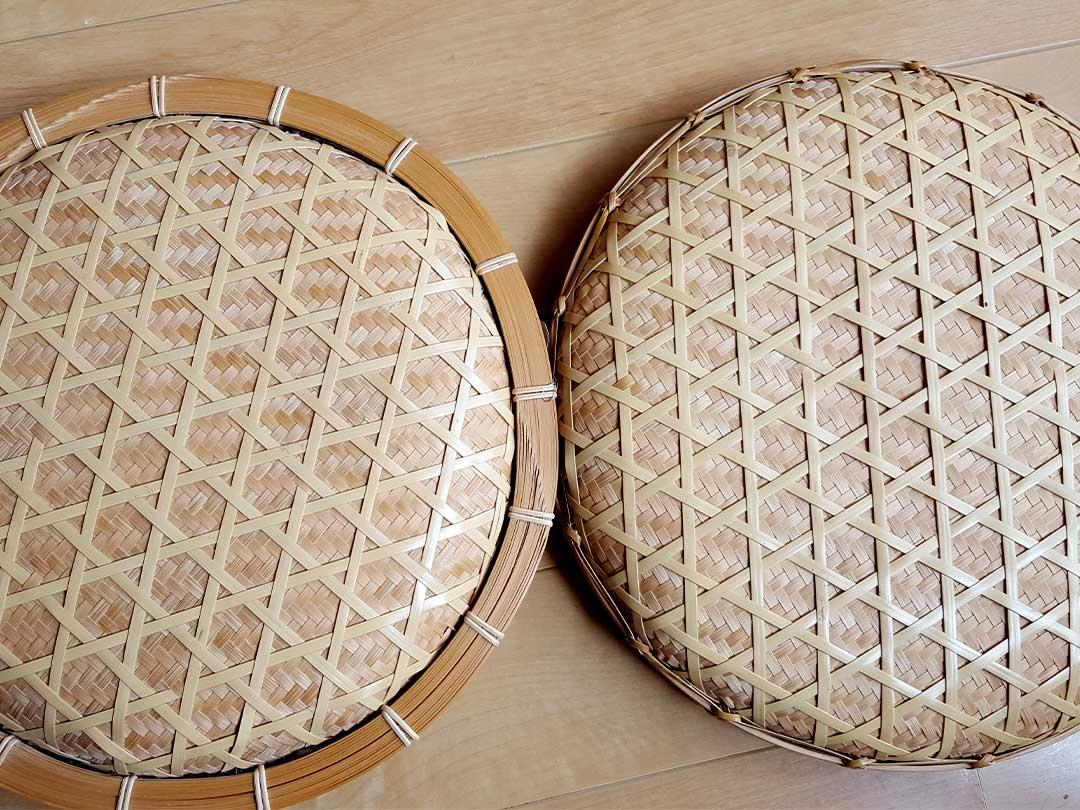 竹製寿司バラ