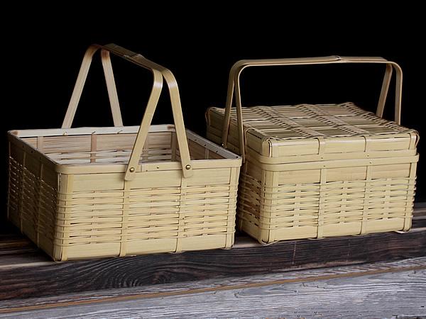 白竹ピクニックバスケット、アメニティボックス
