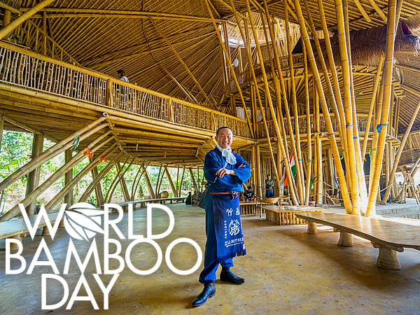 竹虎四代目(山岸義浩、YOSHIHIRO YAMAGISHI)、World Bamboo Day、Green school