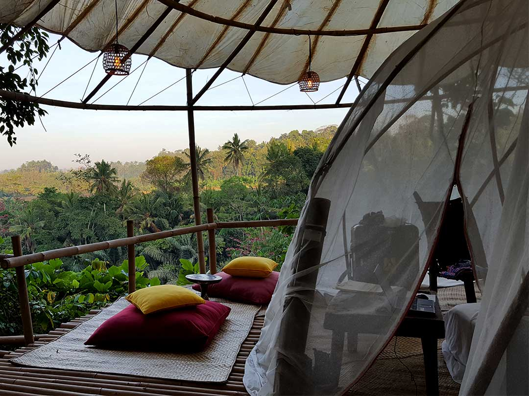 bambu indah、バンブーテント
