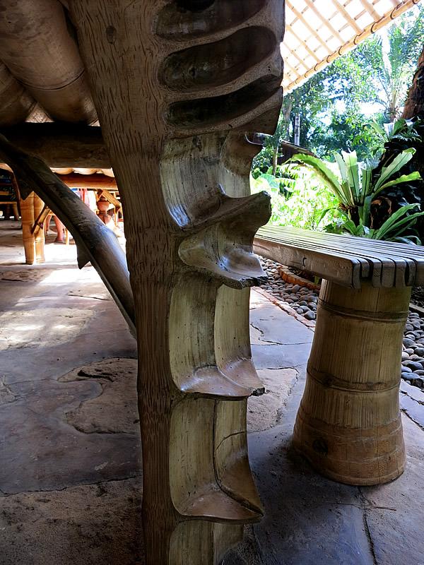 bambu indah、竹テーブル