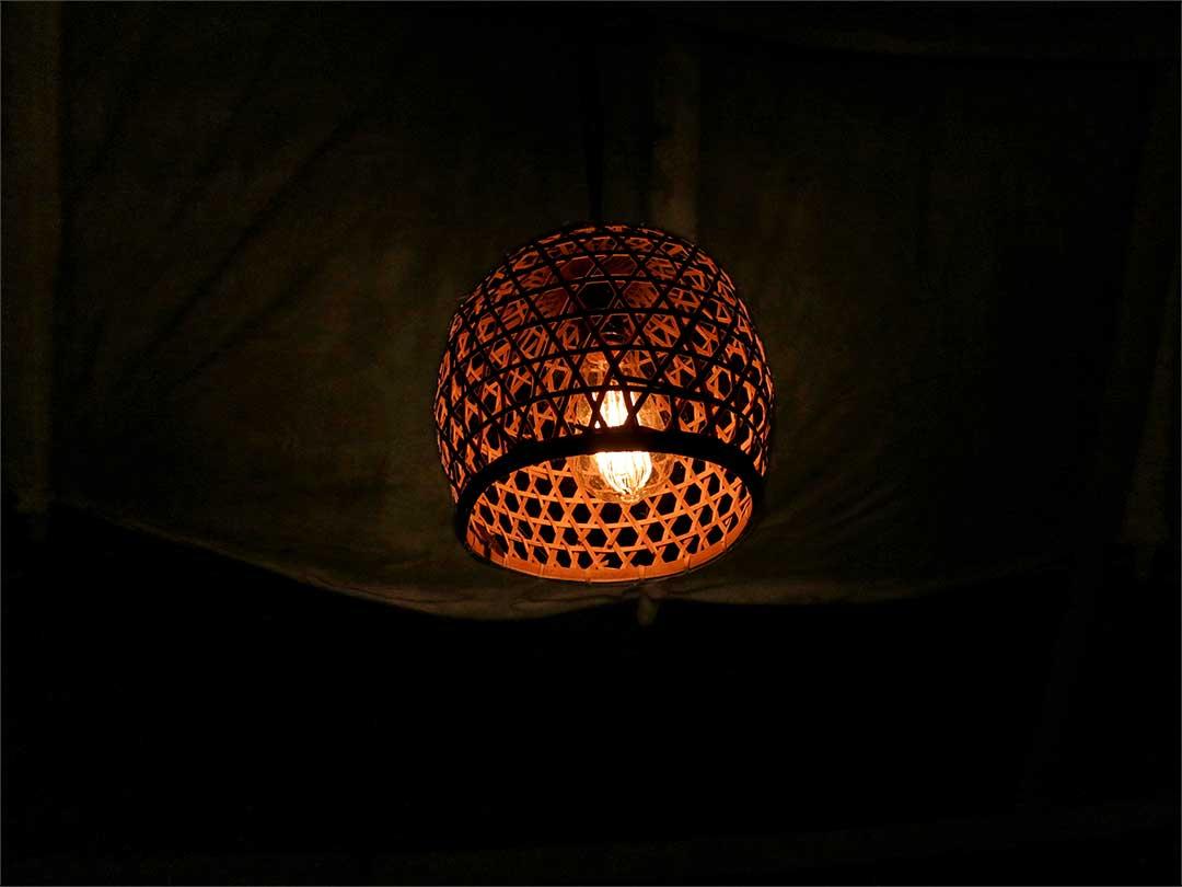 bambu indah、竹灯り