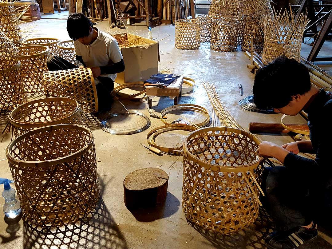 玉入れ籠製造