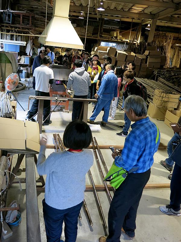 国立台湾工芸研究発展センター、虎竹製造