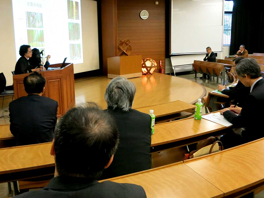 林秀鳳先生、アジア竹サミット