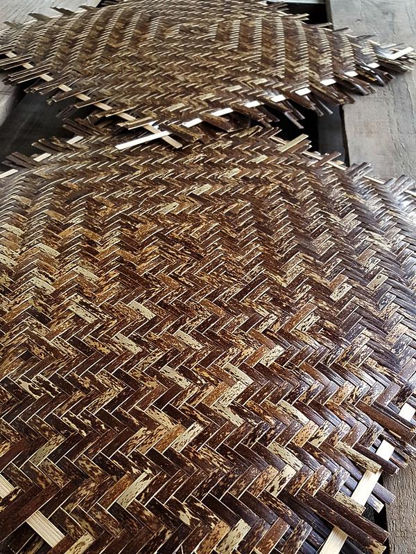 網代編み虎竹
