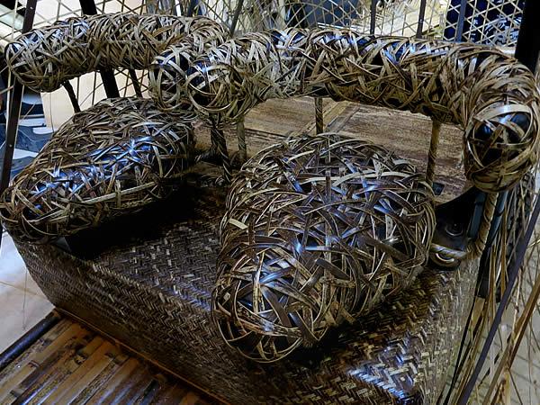 竹トラッカーやたら編みシート